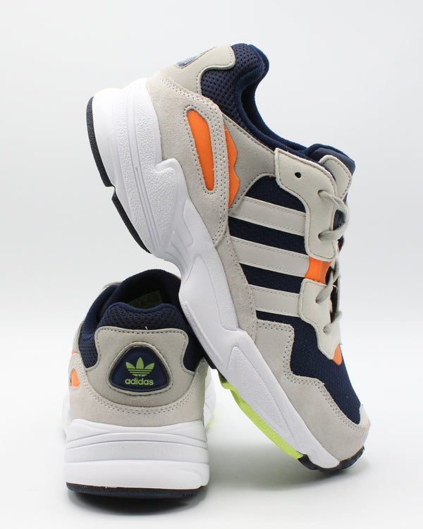 Yung  96 J Sneaker (Grade School) - Navy Beige Orange
