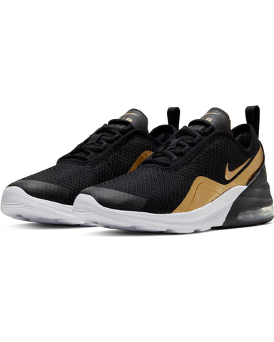NIKE-Air Max Motion 2 Sneaker (Grade School) - Black Gold-VIM.COM