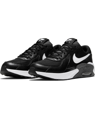 NIKE-Air Max Excee Sneaker (Grade School) - Black White Grey-VIM.COM