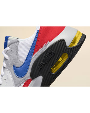 Air Max  Excee Sneaker (Grade School) - White Blue
