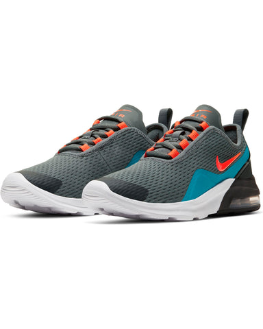 NIKE-Air Max Motion 2 Sneaker (Grade School) - Grey Crimson-VIM.COM