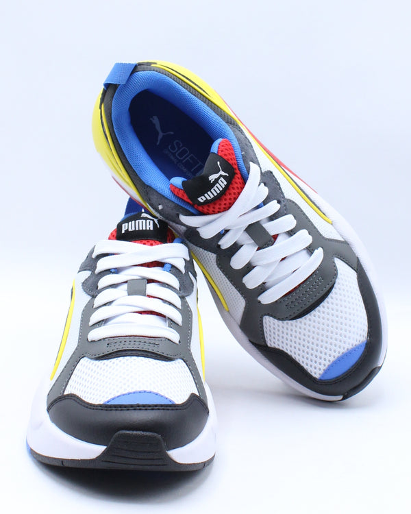 X-Ray Sneaker (Grade School) - White Black Red