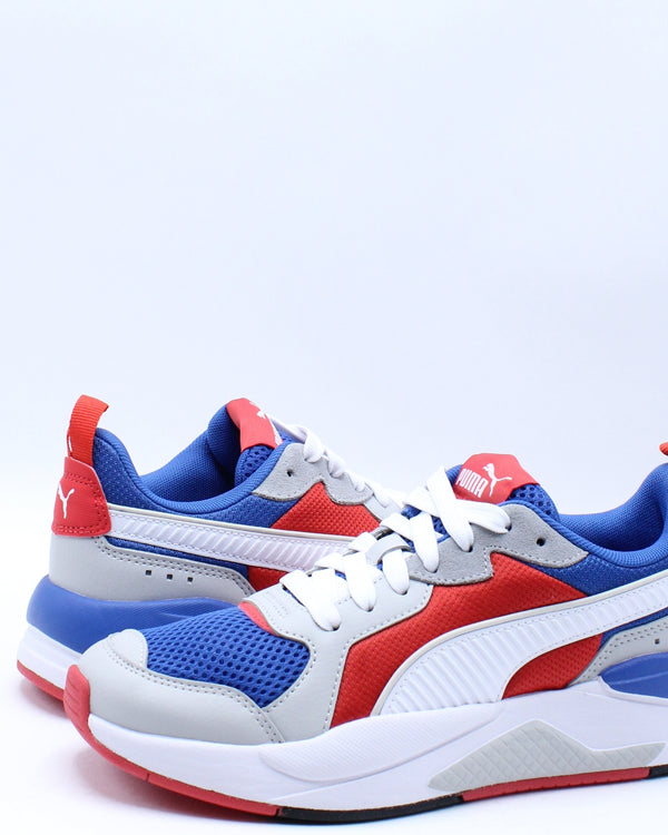 X-Ray Sneaker (Grade School) - White Blue Red