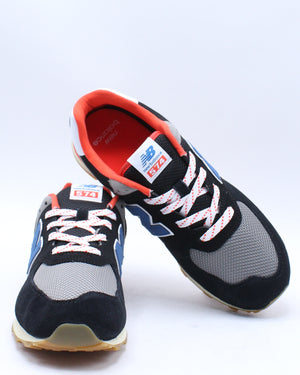 574 Core Plus Sneaker (Grade School) - Black Flame