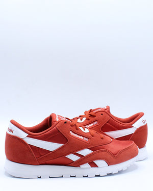 Classic Nylon Sneaker (Grade School) - Red