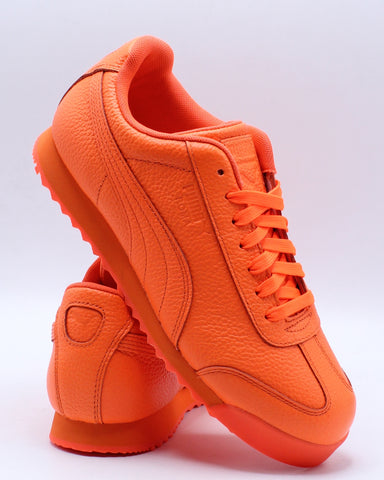 Roma Wrap Sneaker (Grade School) - Orange-VIM.COM