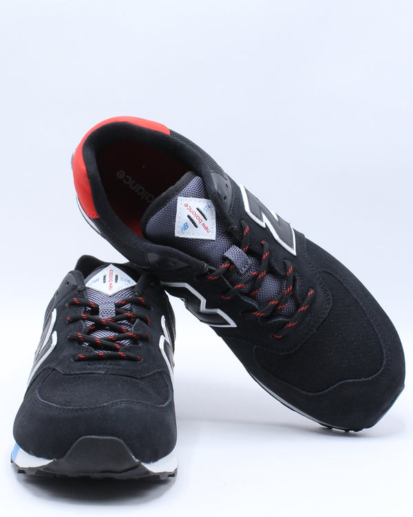 574 Jho Sneaker (Grade School) - Black Red