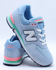 574NKS Low Top Sneaker (Grade School) - Blue