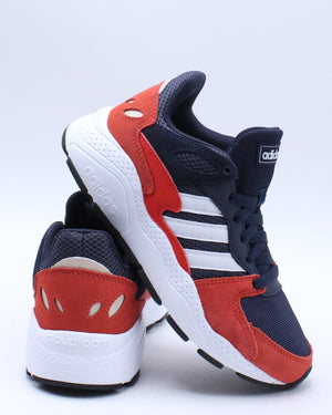 ADIDAS-Crazy Chaos J Shoe (Grade School) - Blue Red-VIM.COM
