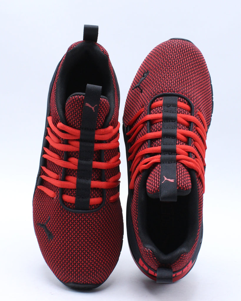 Axelion Nm Jr Sneaker (Grade School) - Red Black