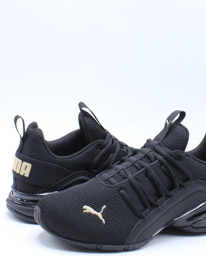 Axelion Nm Jr Sneaker (Grade School) - Black Gold