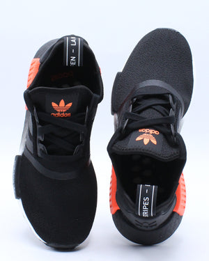 Nmd R1 J Sneaker (Grade School) - Black Orange