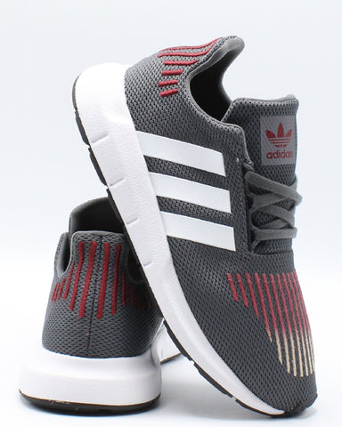 ADIDAS-Swift Run Sneaker (Pre School) - Grey-VIM.COM