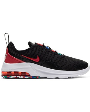 NIKE-Air Max Motion 2 Melted Crayon Sneaker (Pre School) - Black Red-VIM.COM