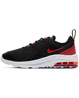 Air Max Motion 2 Melted Crayon Sneaker (Pre School) - Black Red