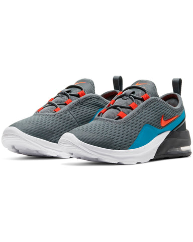 NIKE-Air Max Motion 2 Sneaker (Pre School) - Grey Crimson-VIM.COM