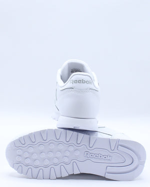 Classic Leather Sneaker (Pre School) - White