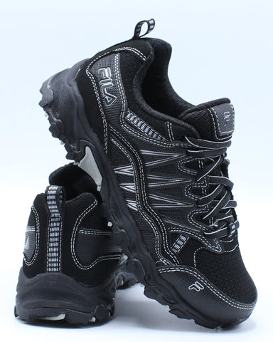 FILA-At Peake Sneaker (Pre School) - Black-VIM.COM