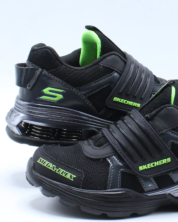 Mega Volt Flex Shoe (Pre School) - Black