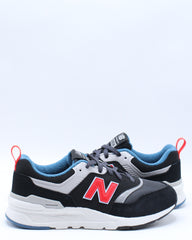 997HAI Low Top Sneaker (Pre School) - Black Red