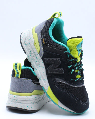 NEW BALANCE-997HCX Low Top Sneaker (Pre School) - Black-VIM.COM