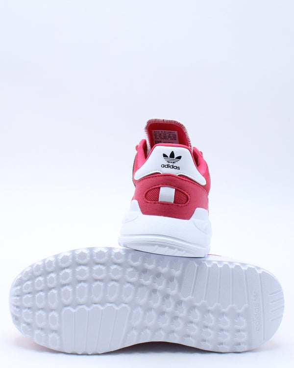 Kid's La Trainer Lite C Shoe (Pre School) - Red White