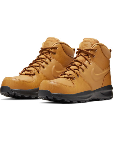 NIKE-Manoa Leather Boot (Grade School) - Wheat Black-VIM.COM
