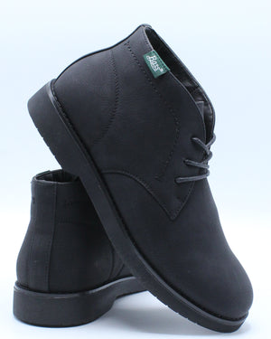 Junior Mid Chukka Boot (Grade School) - Black-VIM.COM