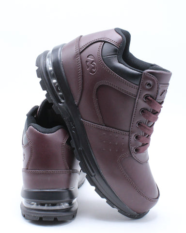 Kid's D Day Le 2 Boot - Burgundy