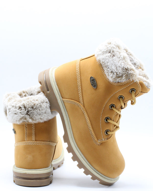Empire Hi Fur Boot (Pre School) - Wheat-VIM.COM