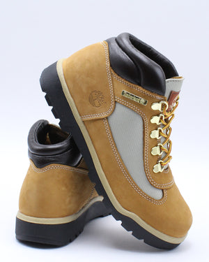 TIMBERLAND-Waterproof Field Hiking Ankle Boots (Grade School) - Wheat-VIM.COM