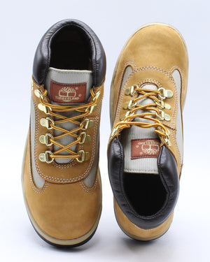 Waterproof Field Hiking Ankle Boots (Grade School) - Wheat