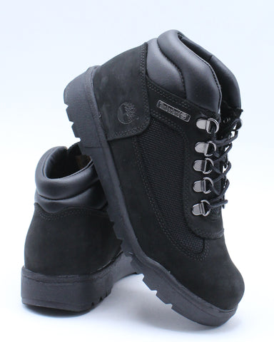 TIMBERLAND-Field Boot (Grade School) - Black-VIM.COM