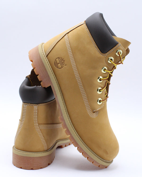 TIMBERLAND-6-Inch Waterproof Boots (Grade School) - Wheat-VIM.COM