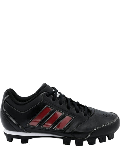 ADIDAS-Change Up Mid Shoe (Grade School) - Black Red-VIM.COM