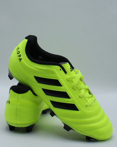 ADIDAS-Copa 19.4 Fg J Shoe (Grade School) - Yellow Black-VIM.COM