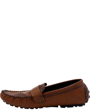Marco Vitale Men'S Driving Moc Perfection Shoes - Tan - Vim.com