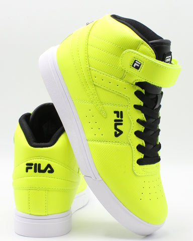 FILA-Vulc 13 Mp Diamond Sneaker (Grade School) - Yellow-VIM.COM