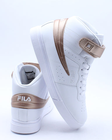 FILA-Kid's Vulc 13 Color Pop Sneaker (Grade School) - White Gold-VIM.COM