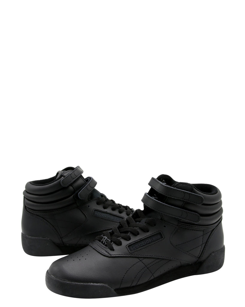 Girls' Freestyle Hi Leather Sneakers (Grade School)