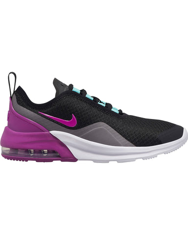 NIKE-Air Max Motion 2 Sneaker (Grade School) - Black Violet-VIM.COM