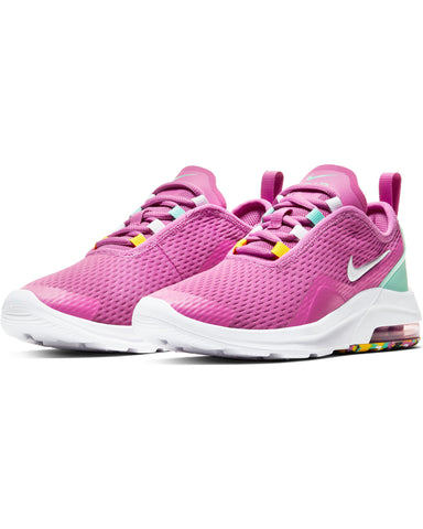 NIKE-Air Max Motion 2 Melted Sneaker (Grade School) - Fuchsia Emerald-VIM.COM
