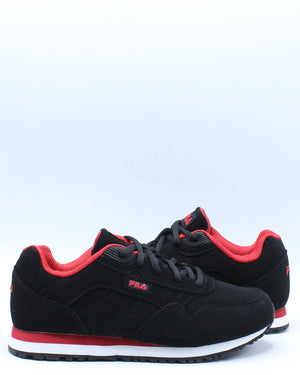 Cress Sneaker (Grade School) - Black Red