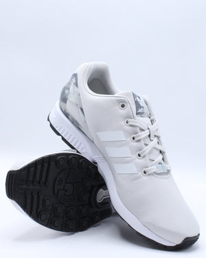 Zx Flux J Sneaker (Grade School) - Grey White