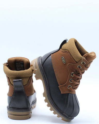 Mallard Duck Boot (Toddler) - Brown-VIM.COM