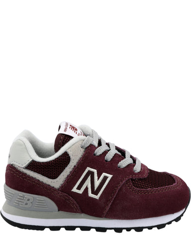 NEW BALANCE-Boys 574 Core Sneaker (Toddler) - Burgundy-VIM.COM