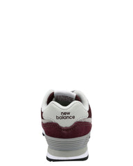 NEW BALANCE Boy'S 574 Core Sneaker (Toddler) - Burgundy - Vim.com