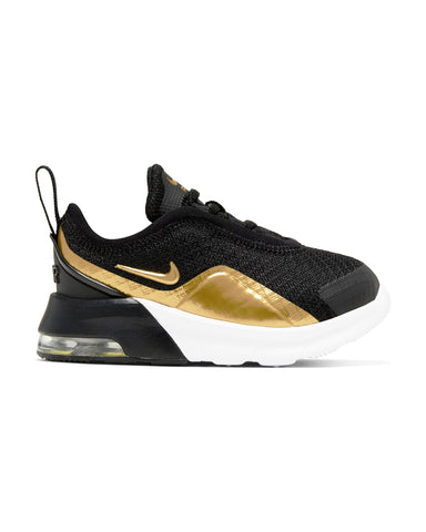NIKE-Air Max Motion 2 Sneaker (Infant) - Black Gold-VIM.COM