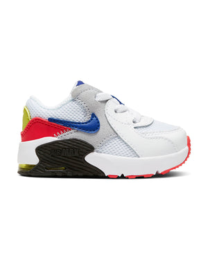 NIKE-Air Max Excee Sneaker (Infant) - White Blue-VIM.COM