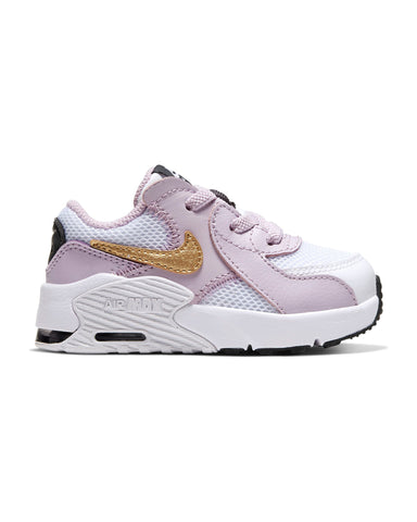 Air Max Excee Sneaker (Infant) - White Gold Lilac